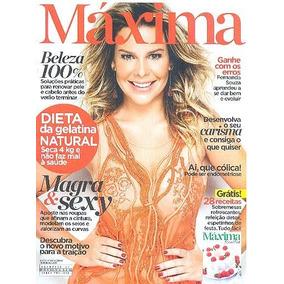 Revista Máxima 57: Fernanda Souza / Hora Do Brunch