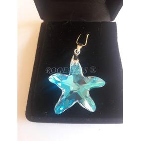 4965c5bd7d3f5 Pingente Estrela De Cristal Swarovski - Pingentes no Mercado Livre ...
