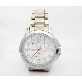 Relógio Giorgio Armani Prata Masculino Moderno