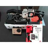 Cámara De Acción A9 1080p Full Hd 60fps Tipo Gopro Entrega