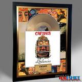 Cuadro Decorativo Caifanes Bunbury Soda Stereo Disco Oro Lp