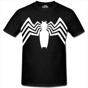 a74cae7fa Camiseta Venom Spiderman Homem Aranha Super Herois Marvel