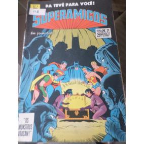 Gibi Superamigos 6 Dc 1979 Ebal Editora Brasil América