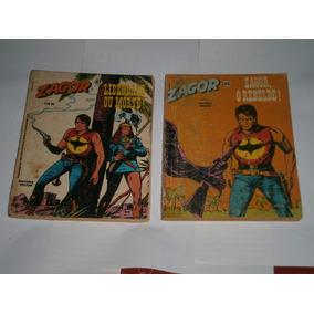 Zagor Editora Vecchi - Do 40 Ao 49 Gibis Raros 2 Por 15,00