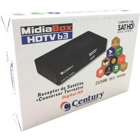 Receptor E Conversor Midiabox Hdtv B3 Century - Lançamento