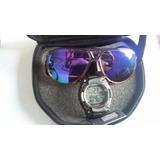 Kit Relógio Masculino Digital Mormaii +óculos De Sol Mormaii 8492671f24