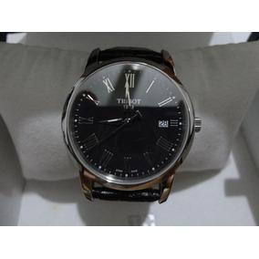 ab39ca502b8 Relogio Tissot Fundo Preto E Numeros Com Romanos - Relógios De Pulso ...