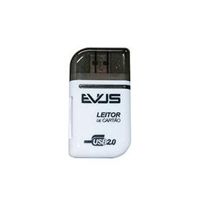 Leitor De Cartão Externo Evus Branco Modelo Lc-02