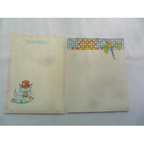 Papel De Carta Coleção Década De 80 Diversos 2un