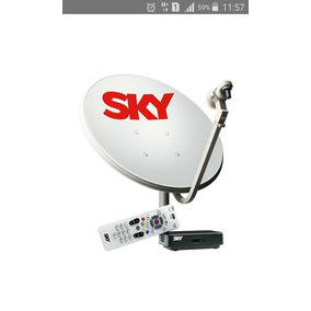 Sky Pré-pago Flex (kit Completo Para Instalação)