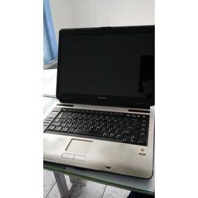 Notebook Toshiba A105 S2071 Com Defeito Na Tela - Com Maleta