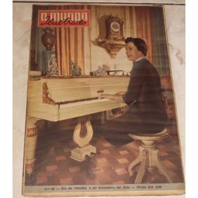 O Mundo Ilustrado Nº 84 - Set/1954 - Getúlio Vargas, Rádio