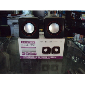 Multimidia Speaker System G-104 Usb