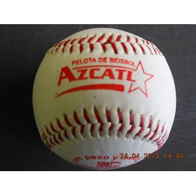 Pelota Beisbol Aztlan Azcatl Roja 1 Pieza Oficial Reglamenta