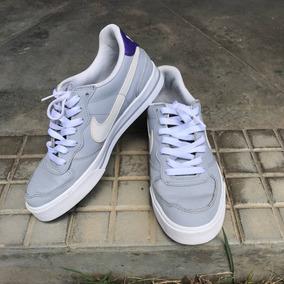 Tenis Nike N 36 Cinza Com Roxo