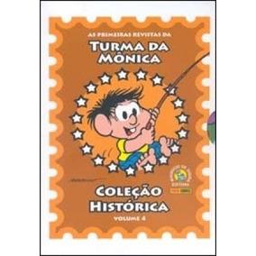 Coleção Histórica Turma Da Mônica Box 4. Novo.