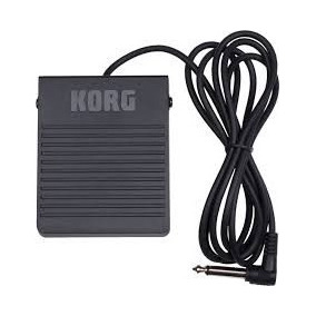 Pedal Korg Ps-3 P/ Teclados Sustain Footswitch Ps3 Original