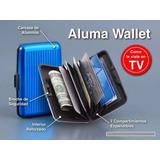 Billetera Tarjeta Credito Aluma Wallet Unisex Business Bolw