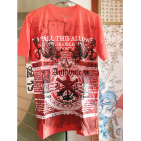 Camisa Playera Basic Concepts Outfiters Vintage Red Dragon