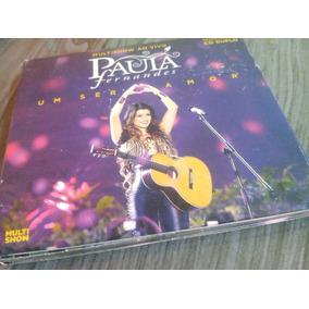 Cd Paula Fernandes Multishow Ao Vivo (duplo)