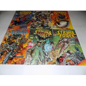 Série Completa Gibi Codinome Stryke Force