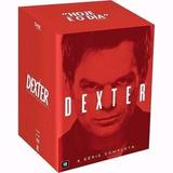 Box Dvd Dexter - A Série Completa - 32 Discos - Lacrado