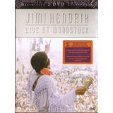Dvd Duplo Jimi Hendrix - Live At Woodstock - Novo***