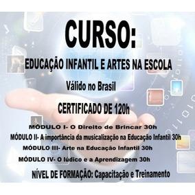 Curso Educação Infantil E Artes 120h