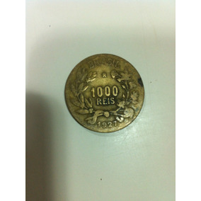 6 Moedas Antiga De 1000 Reis De 1927