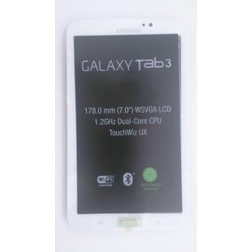 Display+touch Screen Tablet Samsung Galaxy T210 Tab 3 Branco
