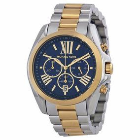 Relogio Michael Kors Mk5976 Misto Gold Prata - Relógios De Pulso no ... 5fb1d1a718