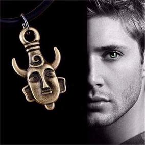 Colar Supernatural Dean Winchester Dupla Face