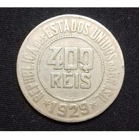 Moeda 400 Réis - 1918 A 1935 - Níqueis