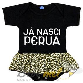 914ca47465 Body Nasci Perua - Bodies Manga Curta de Bebê no Mercado Livre Brasil