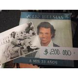 Julio Iglesias Lp Español Y Foto Autografiada