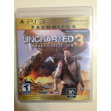 Juego Ps3 Uncharted 3