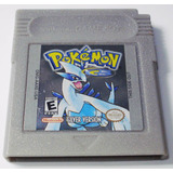 Pokemon Silver Game Boy Color Gbc Cartucho Retromex Tcvg