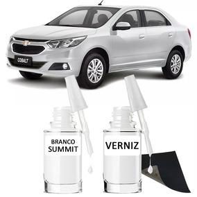Tinta Tira Risco Automotivo Chevrolet Cobalt Branco Summit