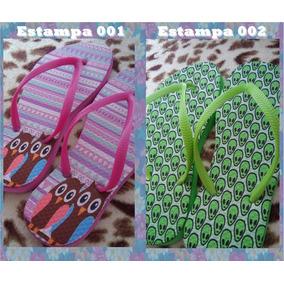 Sandálias Personalizadas Com Varias Estampas !