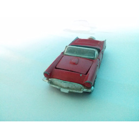 1981 Corgi 1956 Ford Thunderbird 1/64 Antiguo