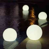 Esfera Luminosa,led,flotante Para Interior Y Exterior 30 Cm