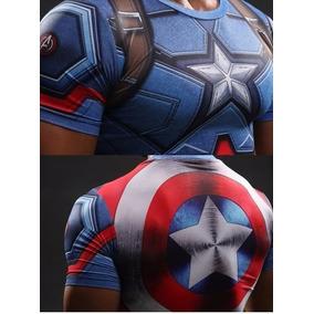 Camisa Blusa 3d Batman Superman Capitão América Homem Ferro