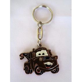 Chaveiro Caminhão Guincho Marron Carro Em Metal 4,5 Cm