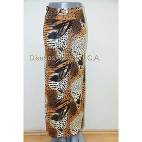 Hermosas Faldas Largas Estampadas
