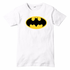 Playera Talla Infantil Batman Impresión Digital Dc Comics