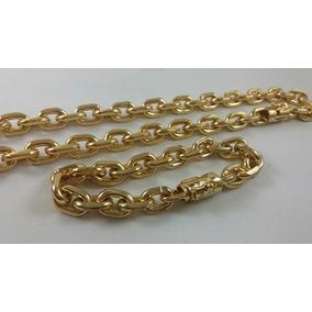 0616f0d400d Pulseira De Ouro 18k Masculina Cadeado 12 Gramas - Joias e Relógios ...