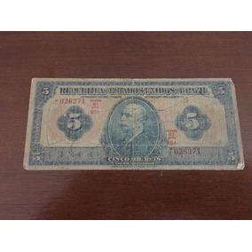 Cédula De 5 Mil Réis De 1923