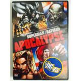 Dvd Dc Universe Superman / Batman Apocalype - Novo Lacrado!!