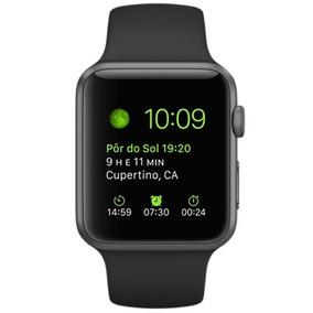 Apple Watch Sport - 42mm Preto - Lacrado - Menor Preço Do Ml
