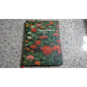 Livro Plantas Flores Volume 1 Antigo Capa Dura